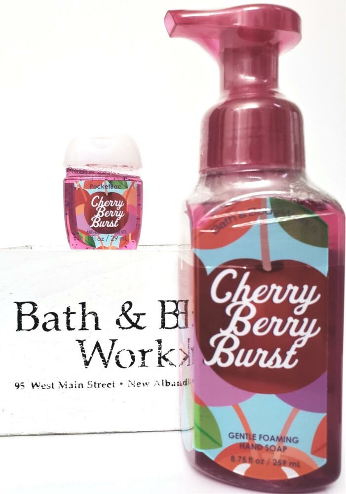 Bath And Body Works Cherry Berry Burst Hand Soap Pocketbac