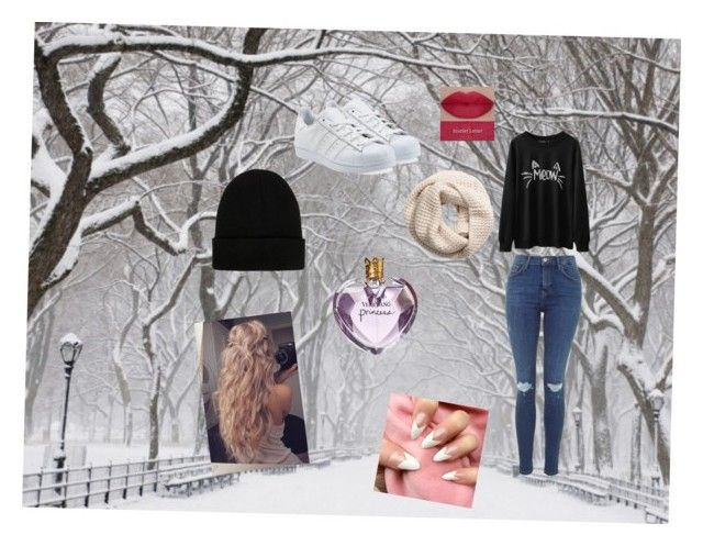 """""""Winter"""" by yazzylovexoxo on Polyvore featuring adidas Originals, H&M, NLY Accessories, Vera Wang and She's So"""