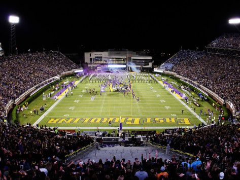 east carolina university | East Carolina University - Dowdy-Ficklen Stadium - 2011 Photographic ...