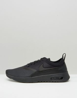 Nike - Beautiful X Powerful All Black Air Max Thea Ultra Premium - Scarpe da ginnastica