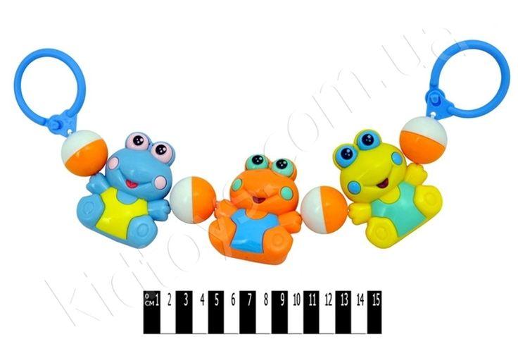 Погримушка на візок (жабки) 6336, интернет магазин для девочек, настольные семейные игры, интернет магазин детских, купить игрушки лего, распродажа детской одежды, игры для девочек