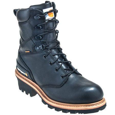 Carhartt Boots Men's CML8131 Waterproof EH Logger Boots