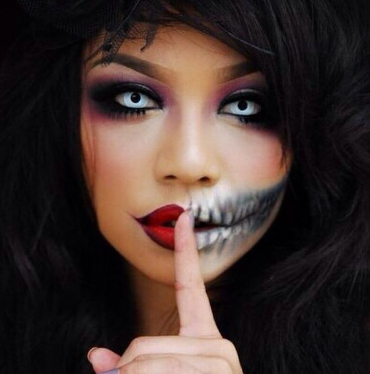 17 Best images about Halloween ideas on Pinterest Doll - Adult Halloween Makeup