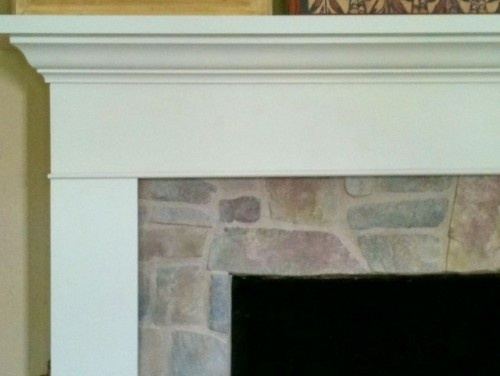 Fireplace Redo Living Room Remodel Warm