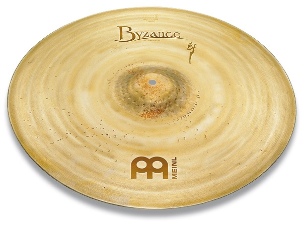 Meinl's new Sand Ride... a different look with a dry articulate sound. I'll take one!