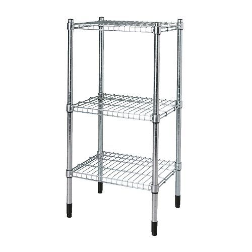 OMAR Shelving unit IKEA Easy to assemble – no tools required. You can build several vertically if you need more storage space.