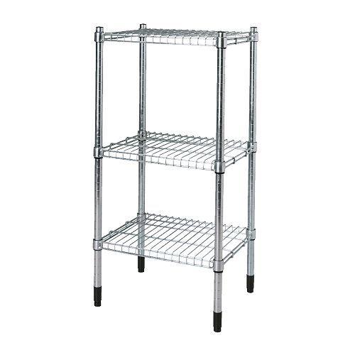 IKEA - OMAR, Hylla, 46x92x36 cm, , Enkel att montera - inga verktyg behövs.Du kan bygga flera på höjden om du behöver mer förvaringsutrymme.Flyttbara hyllplan gör att du enkelt kan anpassa utrymmet efter dina behov.