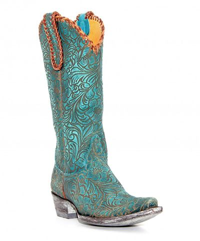 25  best ideas about Turquoise Cowboy Boots on Pinterest ...