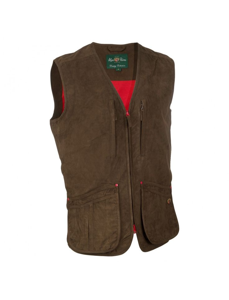 Alan Paine Cambridge Gents Waistcoat from ArdMoor for the perfect gents shooting  vest that is stylish and functional, waterproof and breathable.