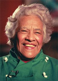 Leah Chase owner of Dooky Chase and renowned New Orleans Chef