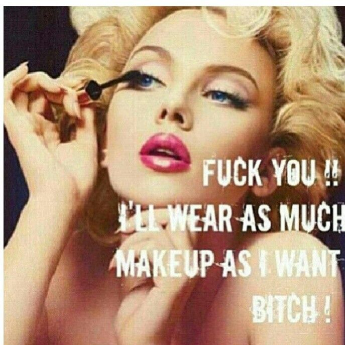 Damn Right - sick of ppl saying i wear to much. They are just to lazy to be an artist