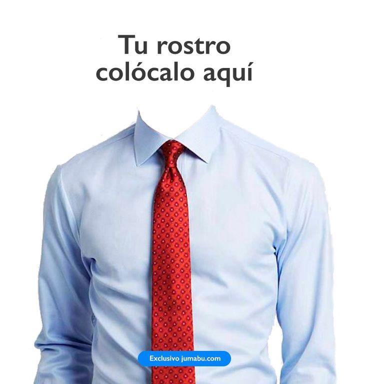 Plantilla para poner una camisa y corbata a tu curriculum vitae | Jumabu