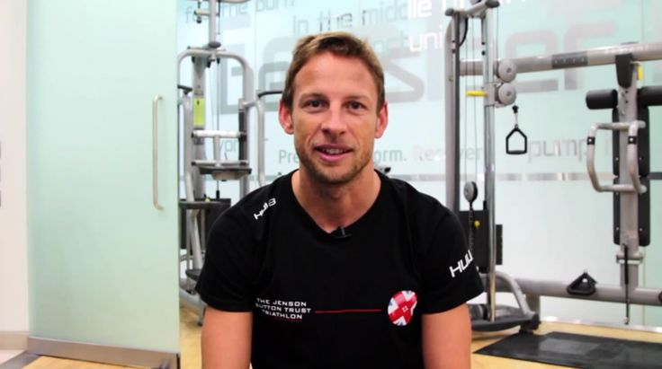 Jenson Button Introduces His 2015 Derby Triathlon (VIDEO)