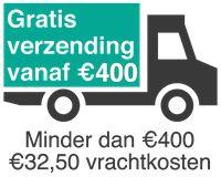 Bezorgkosten bouwmaterialen online. Vanaf 400 euro bouwmaterialen gratis bezorgd
