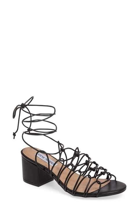 Steve Madden Illie Knotted Lace Sandal (Women)