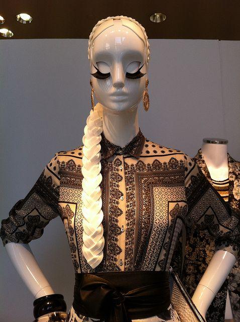 """ZARA, mannequin, """"mystery"""", pinned by Ton van der Veer"""