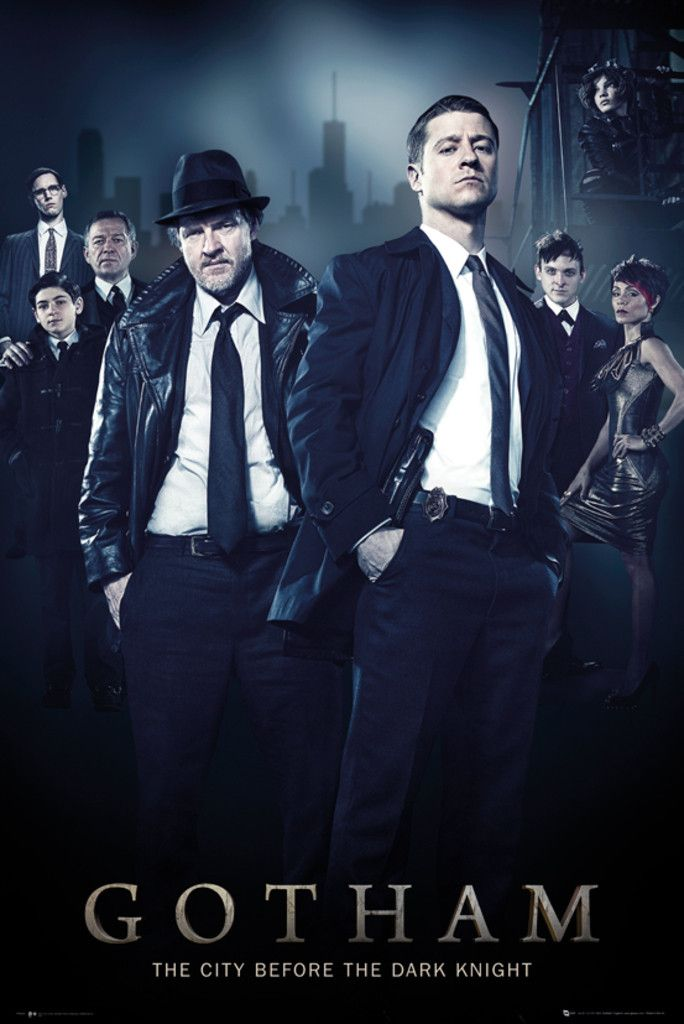 Gotham Cast - Official Poster. Official Merchandise. Size: 61cm x 91.5cm. FREE SHIPPING