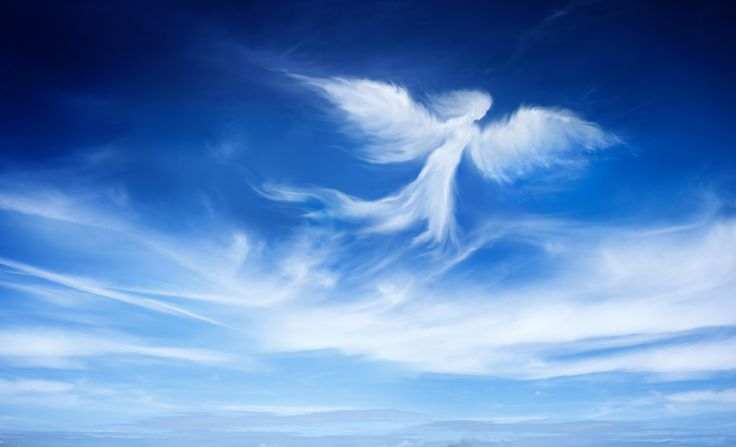 """La palabra """"ángel"""" se deriva de la palabra griega aggelos, la cual significa """"mensajero."""" La palabra correspondiente en Hebreo ma'lak también tiene el mismo significado. En ocasiones, la Biblia asigna esta palabra para referirse a seres humanos"""