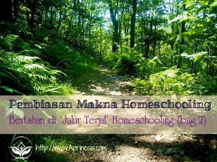 Di Indonesia, makna homeschooling sering berganti sejalan dengan komersialisme.