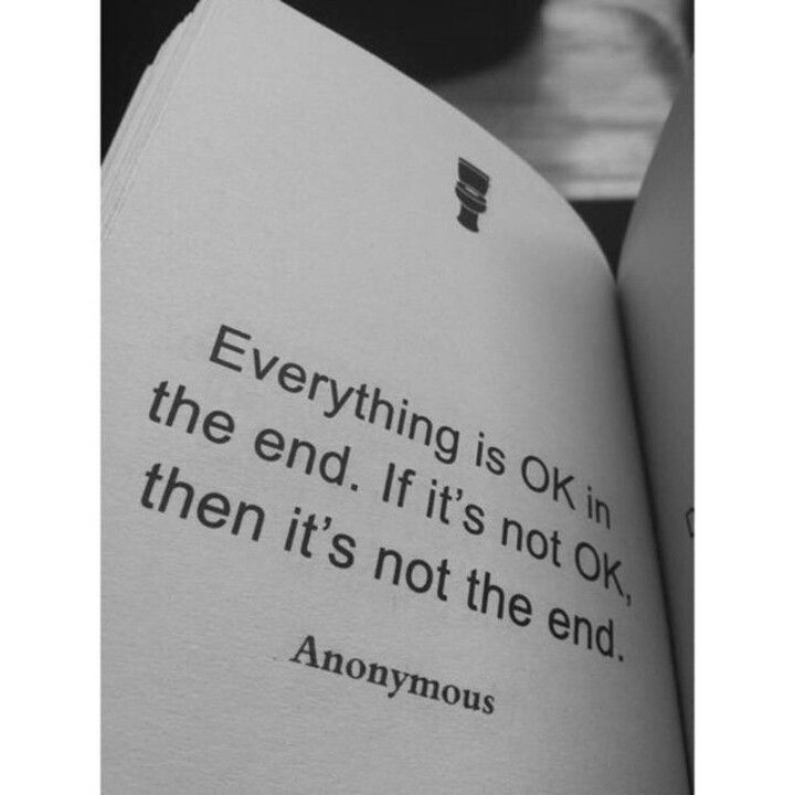 Not the end still..