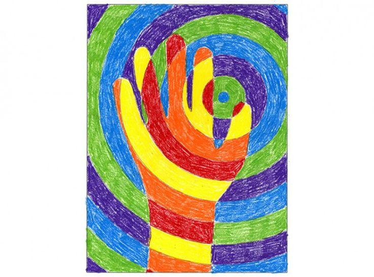 Warm Hands Color Lesson