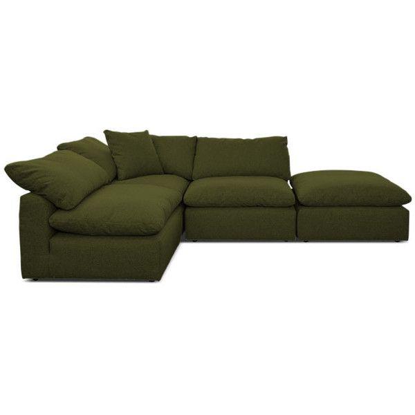 Modern Green Sofa best 25+ mid century sectional ideas on pinterest | mid century