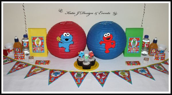 Sesame Street Paper Lanterns #Sesame #Street #Personalised #Party #Decorations #Baby #Cute #Shower #Elmo #Oscar #TheGrouch #Cookie #Monster #Unisex #Shower #Birthday #Bunting #Party #Ideas #Banners #Cupcakes #WallDisplay #PopTop #JuiceLabels #PartyBags #Invites #KatieJDesignAndEvents #Creative
