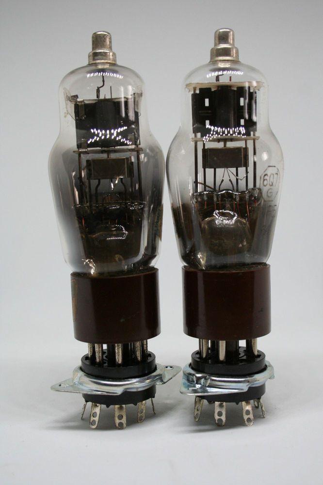 Dettagli Su 6q7 Fivre Tube Brown Base 6q7g Valve Lampe Rohre