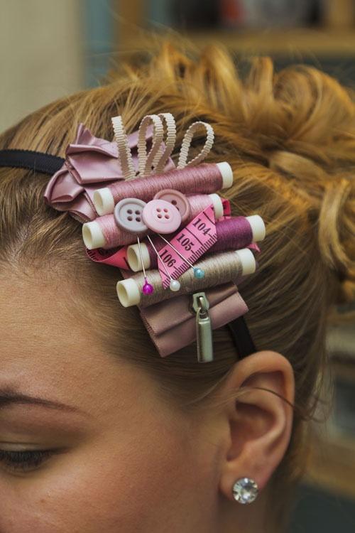 sewing headband! too cute