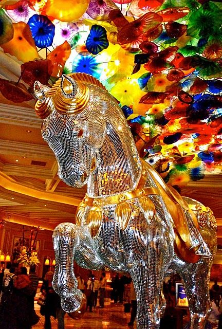 Bellagio Hotel, Las Vegas, Nevada........loved staying here on the girl trip... beautiful rooms.....