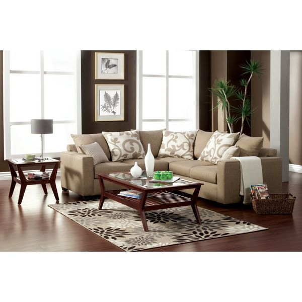 Living Room With A Sectional To Big