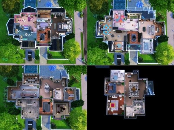 The Sims Resource American Dream By Mychqqq Sims Sims 4 House Design Sims Building