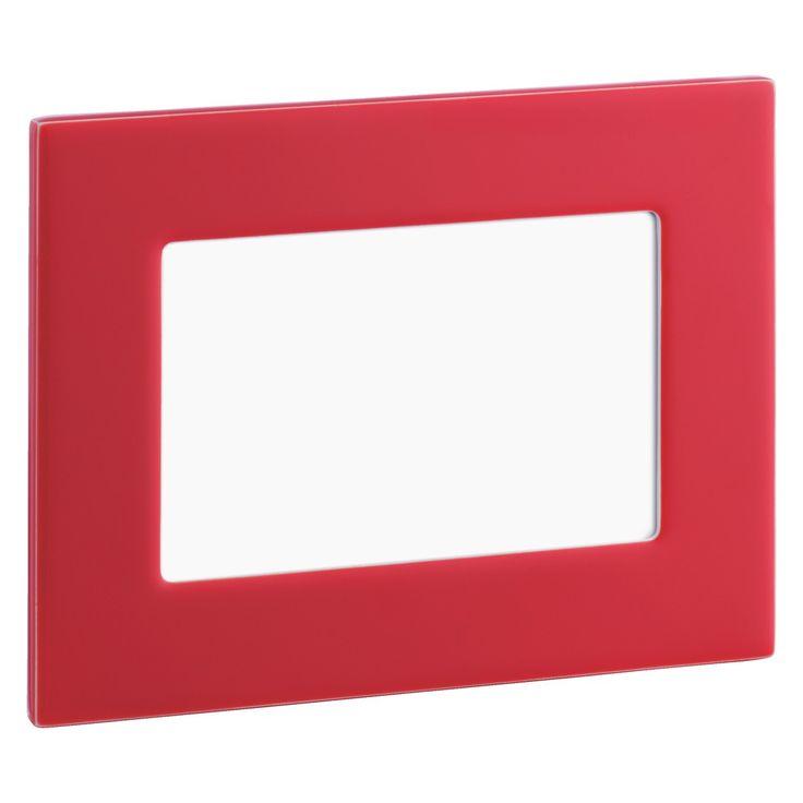 "MAZEL 10 x 15 / 4 x 6 red photo frame | Buy now at Habitat UK"""