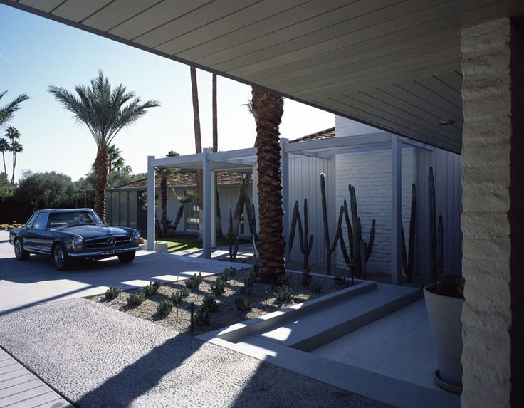 Michael Haverland Architect - Renovation - Abernathy house Palm Springs -  Built 1962 William Cody