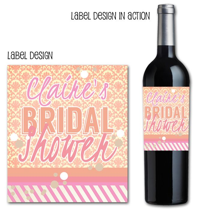 Marital Bliss Custom Wedding Wine Label Wrap By: 186 Best Images About Label Ideas On Pinterest