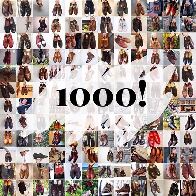 This is wild to me. I was taking a look and #burzanhands has passed 1000 posts!! Thanks to everyone whos held their shoes up and snapped a pic. Its been a blast seeing all the photos over the last year and I look forward to seeing the next 1000.    . . . #vass #edwardgreen #viberg #crockettandjones #coverbookstyle #dailylast #goodyearwelt #rakish #rakishgent #classicmenswear #stylishmen #menstailoring #stylishgent #madetobeworn #styleforum #mensshoes #mnswr #shoeshine #shineyourshoes…