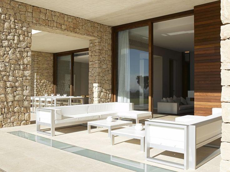 Casa ramon esteve hogarhabitissimo terraza contemporary