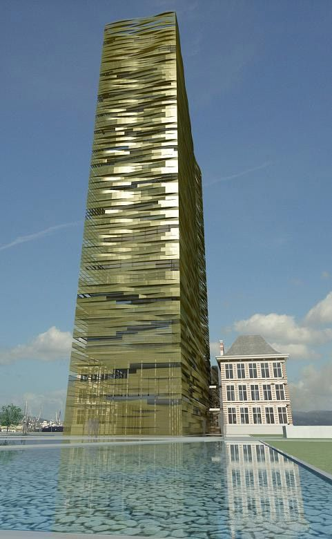 Bustler: Zaha Hadid to Design New Port House in Antwerp