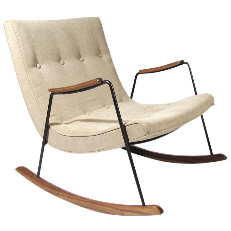 Milo Baughman Rocking Chair. Nursery Rocking ChairsModern ...