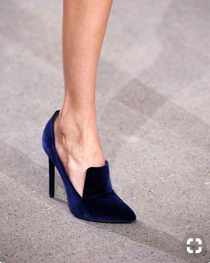 Pin By Beata Kander On My Style Velvet Shoes Heels Velvet High Heels