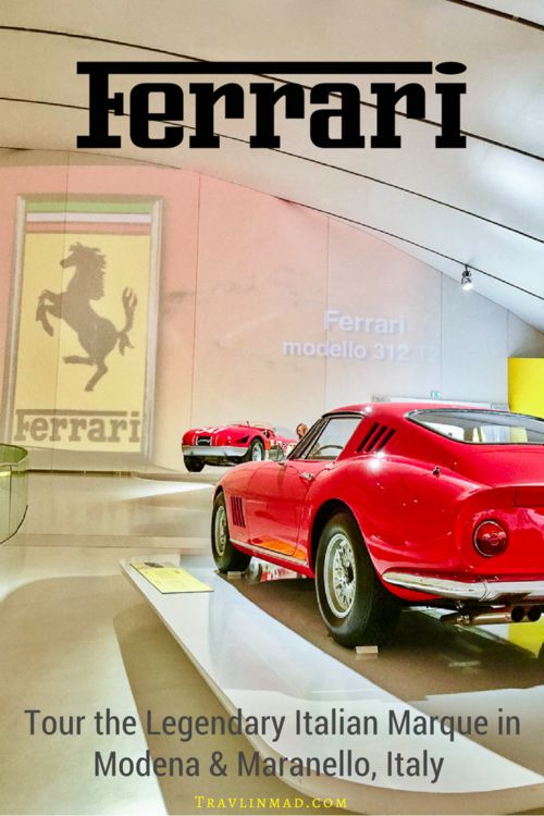 The name Ferrari is so big in #Italy they needed two museums to honor the legendary brand - for both the automobile and the man who built it. The Ferrari Museum Maranello and the Museo Enzo Ferrari are part of the Ferrari tour and a required visit for any fan of the Prancing Horse. For a price, you can even drive a Ferrari in Italy! | Ferrari, Italian sports cars, Enzo Ferrari, Museo Casa Enzo Ferrari Modena, Ferrari Museum Modena, Ferrari Museum Maranello, #Ferrari