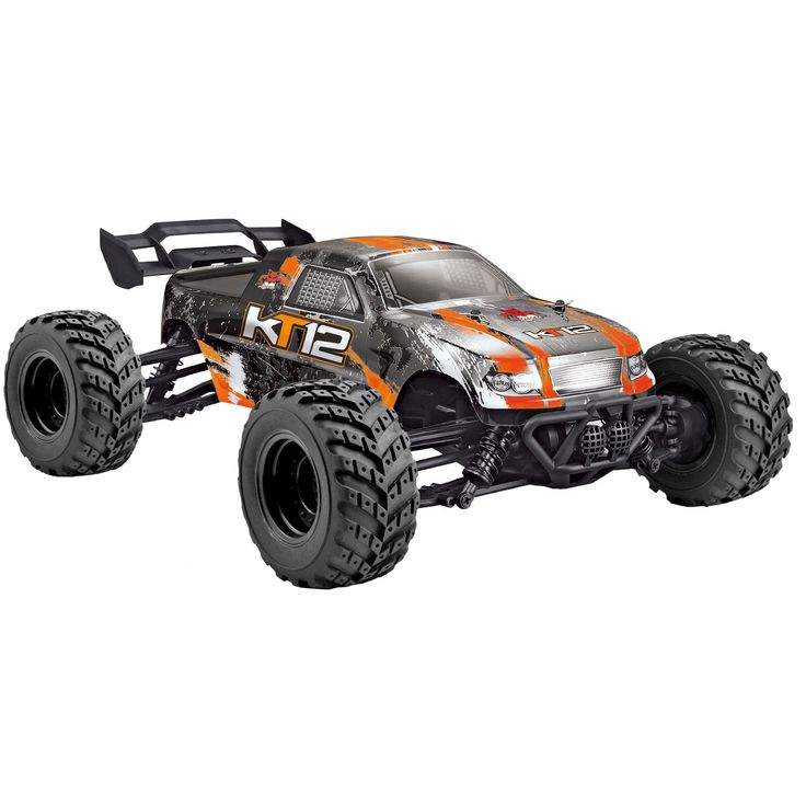 KT12 1/12 SCALE ELECTRIC MONSTER TRUCK BY REDCAT   ORANGE
