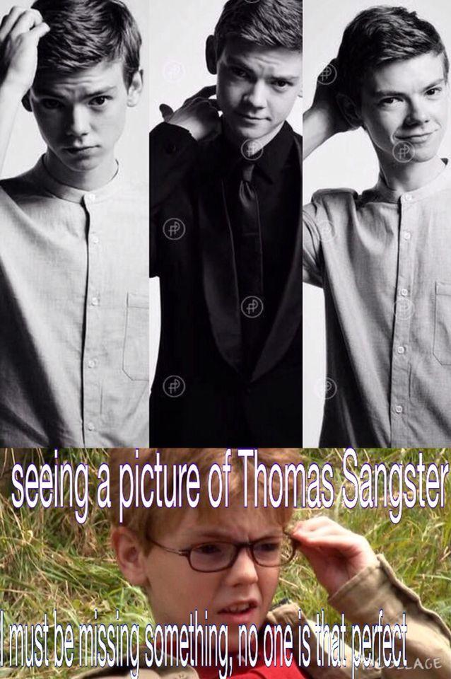 Si buscas la definición de perfecto, tendría una imagen de Thomas Sangster