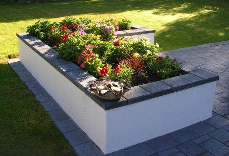 Cinder block ideas (120) | Flowerbeds | Cinder block ... |Cinder Block Flower Bed Plans