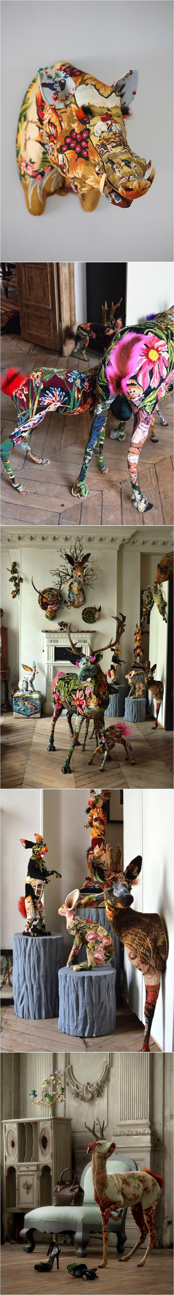 tapestry-taxidermy-Love | Artists We Love | Pinterest | Taxidermy, Art and Decoupage