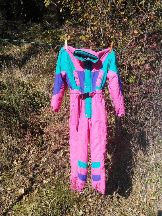 Ski Clothing Ski Suit One Piece Snow suit  by FromParisToProvence