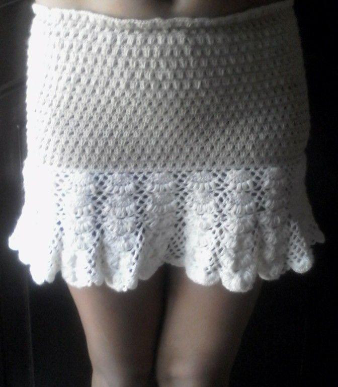 Fluttery skirt