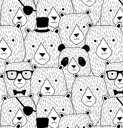 Find the Panda by Venla-Ilona Malkki and Merita Pesonen / Piirre Collective