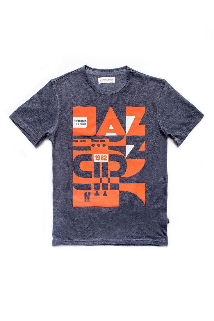 Jazz męska koszulka   Pan tu nie stał