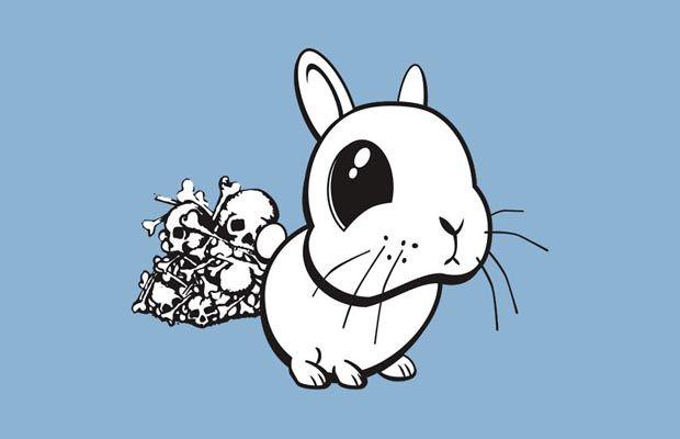 Bunny T-Shirt Get yours here: http://tshirtonomy.com/go/bunny